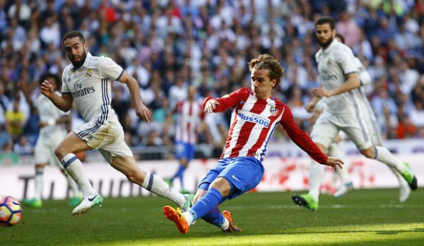 Atletico Madrid-Real Madrid (1-1), Coup de Grizou