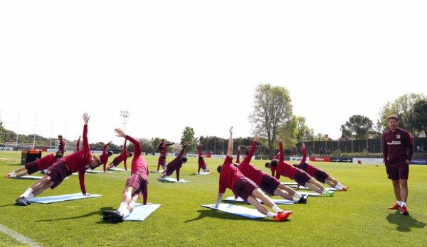 Session d'entrainement du 16 Avril