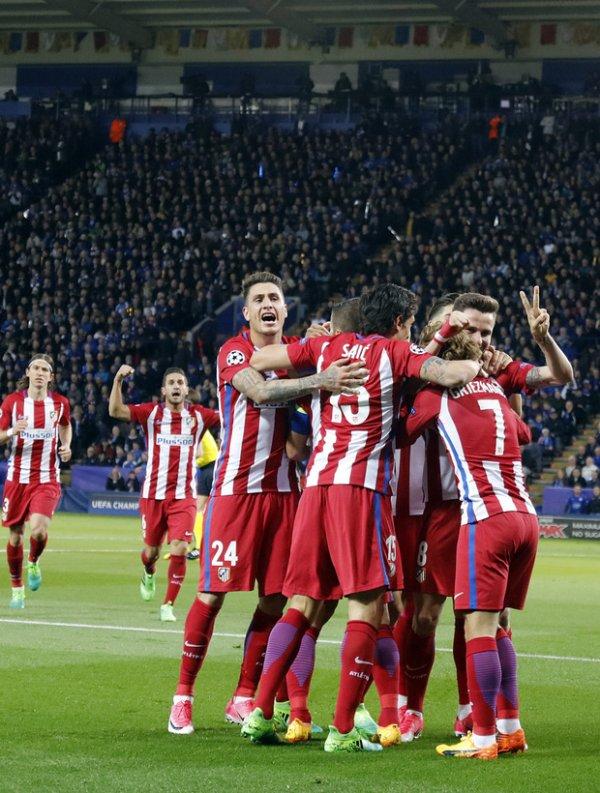 L'Atlético tient son demi (1-1)