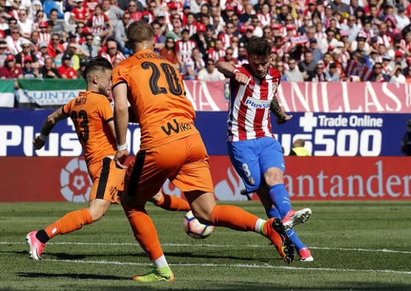 Atletico madrid - Eibar (1-0)