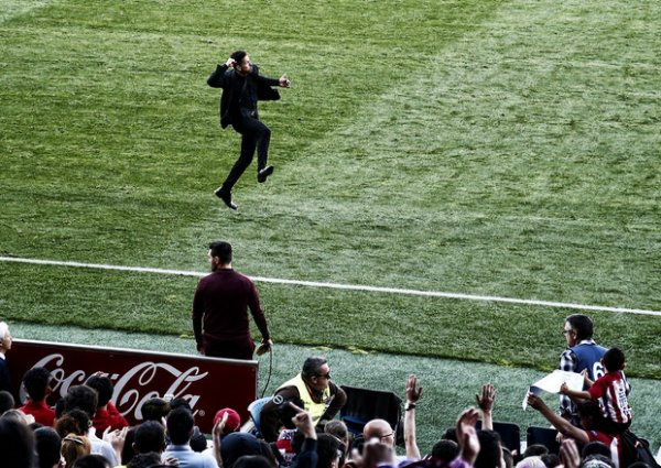 Autre vue sur le match contre Eibar