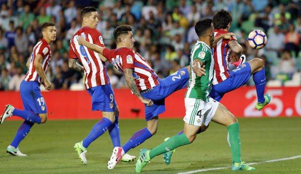 Atletico madrid - Betis (1-1)