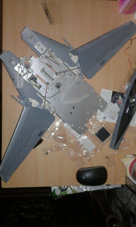 Montage des aile fini
