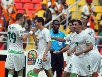 equipe national algerie 2010