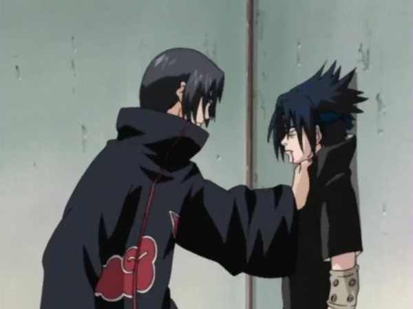 """ You still to weak sasuke ""   Is there one who does not agree with this speech"