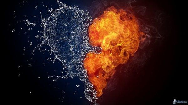 ★ L amour est frais et réconforte comme la chauleur