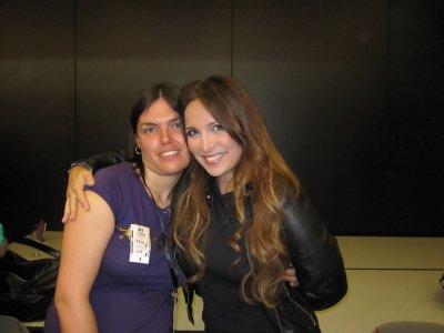 Ma rencontre avec mon idole Hélène Ségara le 8 mai 2010