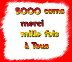 5000 mille commentaire atin