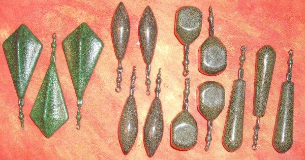 voila le resultat des plombs une fois plastifier ou recouver de vrais sable