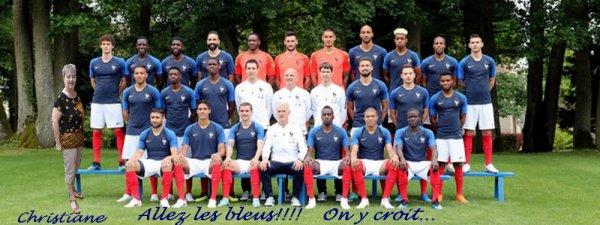ALLEZ LES BLEUS!!!!!