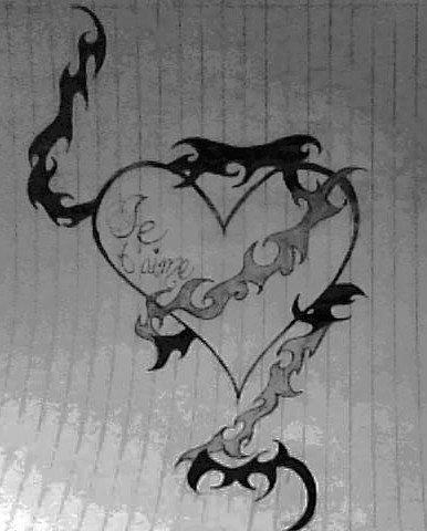mon coeur, je t'aime plus...