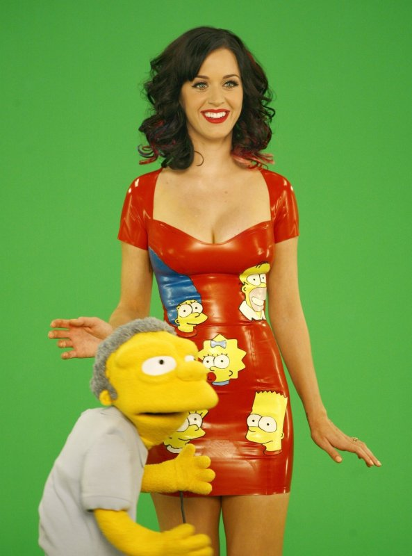 "Katy Perry fera une apparition dans un episode des ""Simpsons"" intituler ""The Fight Before Christmas  qui sera difuser ce 5 decembre 2010 sur FOX  a 20 H !"