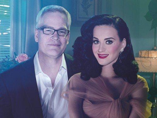 """Katy est la nouvelle energie de """"GHD"""" une marque de produits pour cheuveux ."""