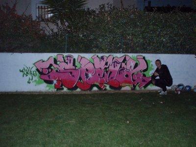 Graffiti spana !! =)