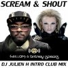 Scream & Shout - Will.I.Am Feat Britney Spears (Dj Julien H Intro club mix)