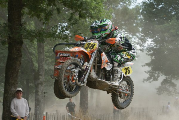 CHAMPIONNAT DE FRANCE INTER SIDE CAR CROSS HUISMES 2011