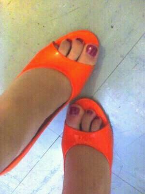 Mes jolie pied
