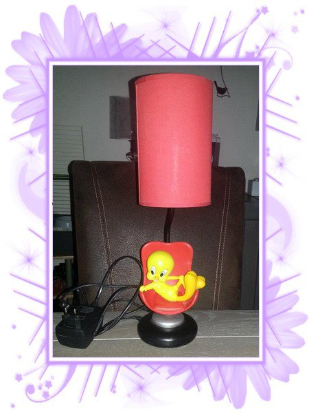 Collection titi : lampe