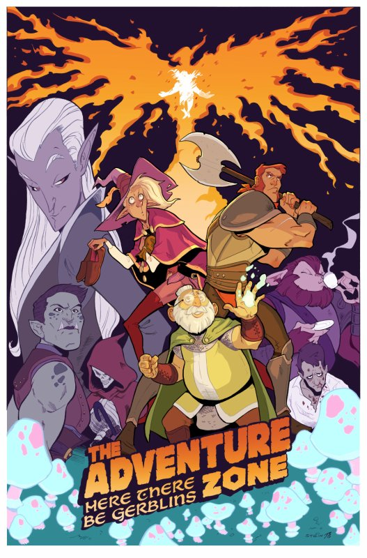 You are going to be amazing. // Commu The Adventure Zone