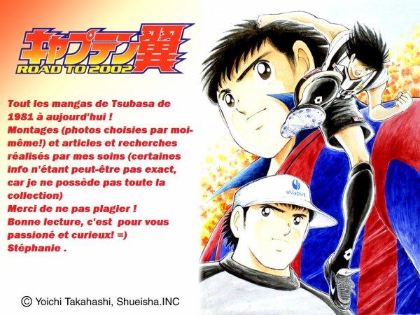 Toute la Série manga de Tsubasa écrit par Yoichi Takahashi !