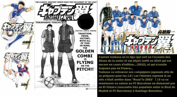 Captain Tsubasa en la liga !