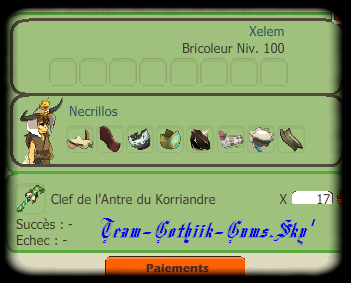 #_Objectifs & Donjon's Korriandre