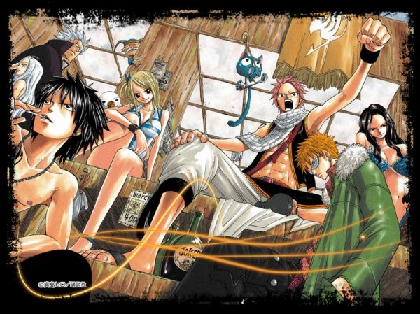 Fairy Tail et ses personnages...^^