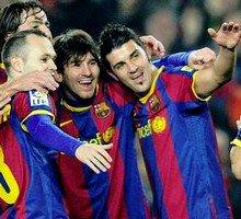 Liga: FC Barcelone 3-0 Atlético Madrid