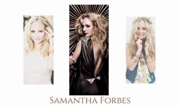 Samantha Forbes.