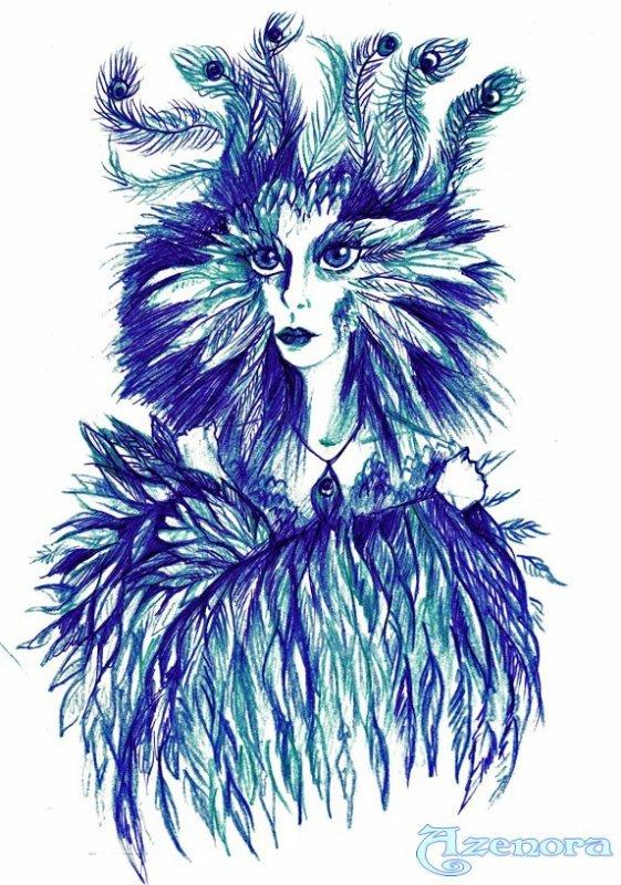 Celaeno... L'histoire d'une Harpie.