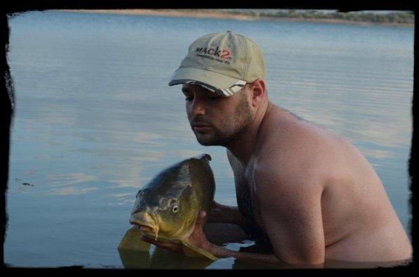 session dans un lac du sud ouest de la France 2012