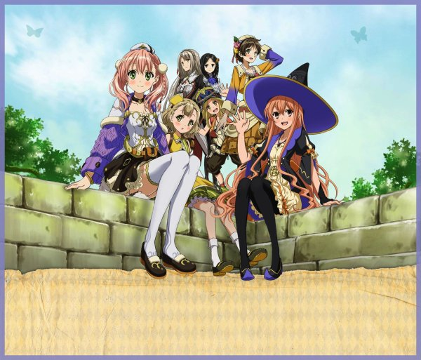 ♣ Escha & Logy no Atelier ~ Tasogare no Sora no Renkinjutsushi ♣