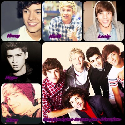 One Direction One Band One Dream <3