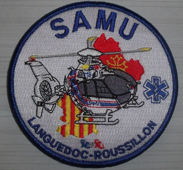 Ecussons des Hélicos du SAMU