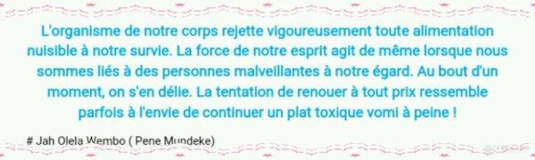 Personnes toxiques