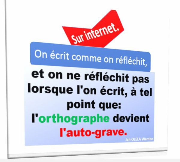 Comment écrit-on sur le net?