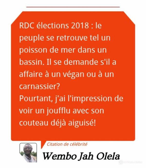RDC: élections