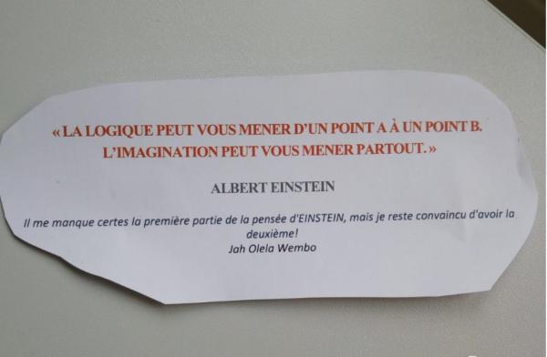 la logique selon Einstein