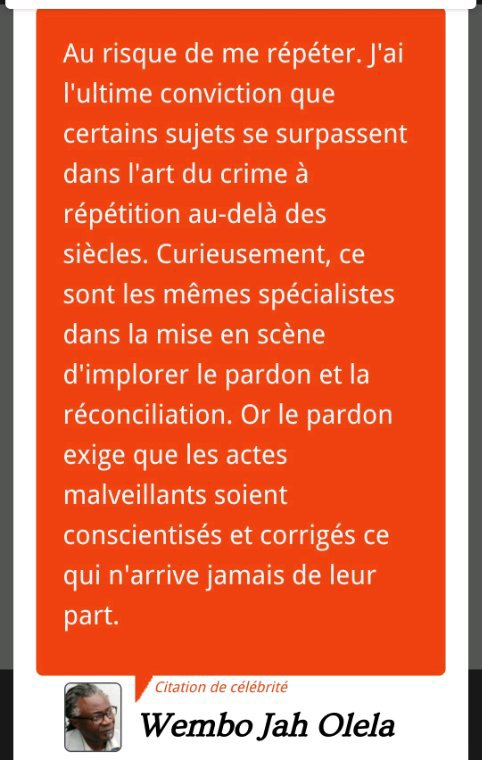 Crimes et pardons