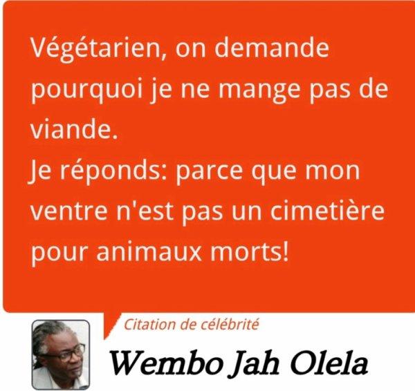 Sagesse du Végétarien