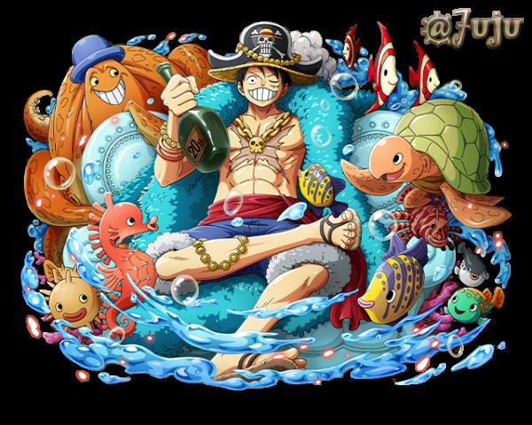 Render Luffy