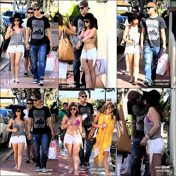 24 Mars 2012 Lucy faisait du shopping avec Chris Zylka et on peut voir Drew Osborne et Annie Breiter. Top ou flop?