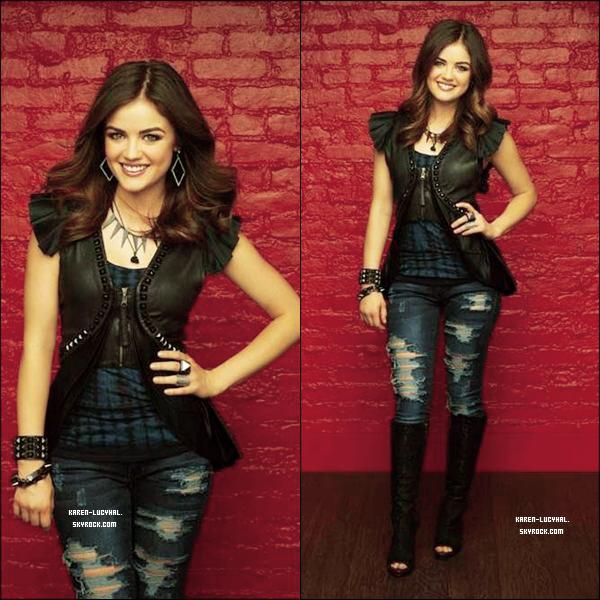 14 Novembre 2012 De nouvelles photos promotionnelle d'un photoshoot pour la saison 3 de la série Pretty Little Liars ont été partagé par ABCFamily.  Les photos sont très réussis et Lucy est magnifique sur les siennes! Qu'en penses-tu?