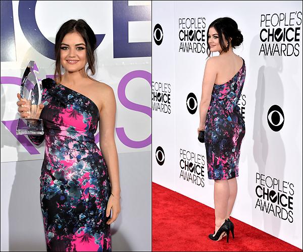 8 Janvier 2014  Lucy était à la cérémonie des People's choice awards..