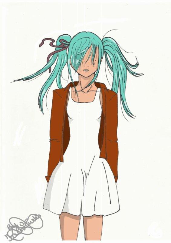 Fanart de Layna par Izumi