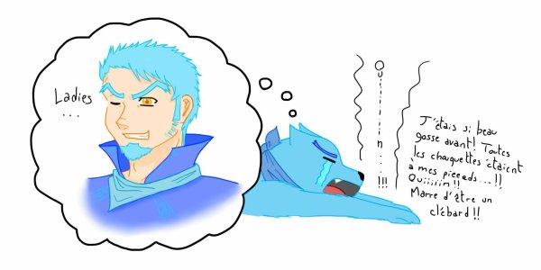 Kenshiro fait une petite déprime...