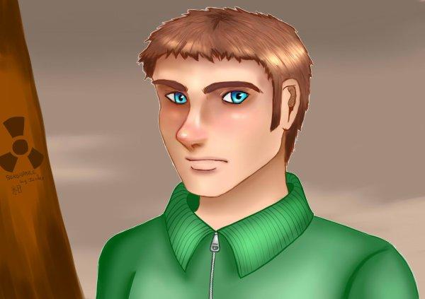 Portrait semi-réaliste de John
