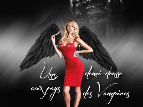 3 - Une demi-déesse aux pays des vampires/ The Vampire Diaries & Percy Jackson