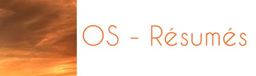OS - Résumés