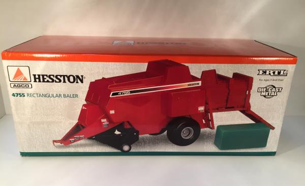 Presse Hesston 4755 ERTL 1/16